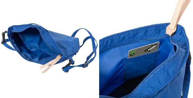 バッグインバッグつきのマザーズバッグ